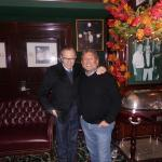 Larry King and Charly Steiner