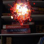 Biblioteca del comedor