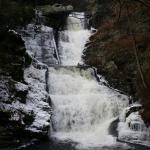 Raymondskill Falls in January