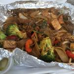 Drunken Noodles with Tofu