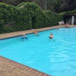 The hot Victorian pool