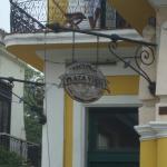 The Balcony of the  Hostel