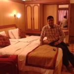 In relax mood after arrical to B'lore