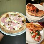 pizzas elaboradas con masa madre