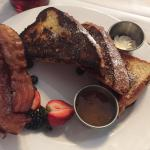 brunch menu French toast