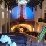 Virgen de Guadalupe en rivera maya