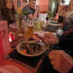 Mackerel with Horseradish Salad