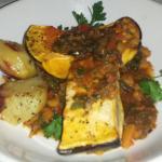 Vegan Butternut Squash Ratatouille. Delicious!