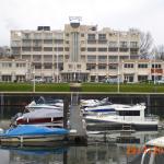 hotel vu de la marina