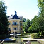 Hellbrunn Castle on a summer day.
