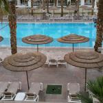 view of the pool from rm 343