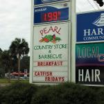 Sign outside near 441