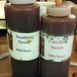 BBQ sauces - yum!