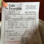 Cafe Escondido Foto