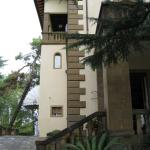 side of the villa