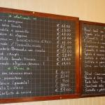 Menu is traditional for north eastern Italy