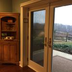 Shenandoah Suite - French doors in the sitting room
