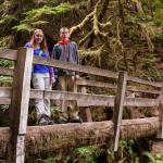 Kids on Second Foot Bridge