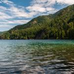 Begining of Trai Passes Crescent Lake