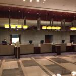 lobby/reception counter
