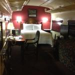 Train car room
