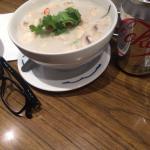 coconut, chicken, mushroom soup