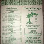 China Cottage Restaurant