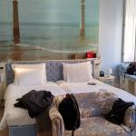Lovely bedroom with headboard photo of local waterfront