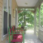 Our spacious porches are favorites with our guests in the warmer months.