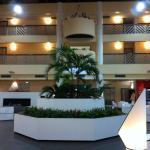 Hall de l'hotel Athantal