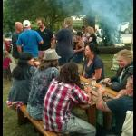 A braai in the beer garden