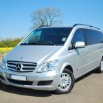 Our Mercedes Viano. Up to 7 passengers