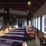Glacier Park Lodge Walkway
