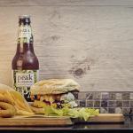 Bio Special con birra e chips