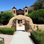 The entrance to the Santuario