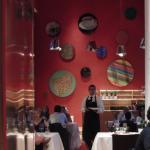 Comedor del restaurante Marqués de Riscal