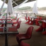Terraza del restaurante Marqués de Riscal