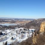 View of La Crosse from Grandad Bluff