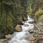 Stanghe Waterfalls at Gilfenklamm Gorge Foto