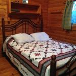 Very spacious bedroom with queen bed.