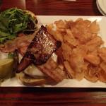 Foie Gras Burger with Chips