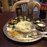 A good All Veg Thali