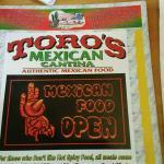 Toro's Mexican Cantina