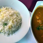 Menu of the day (lunch) - dish with chicken is for two people