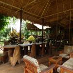Area comun rodeado de la selva y la tranquilidad que solo en este lugar se puede sentir.