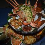 Saefood platter