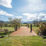 Peaceful New Zeland landscape