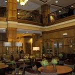 Lobby and upper balcony