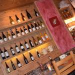 Exposition de vins déco..