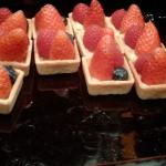 strawberry cakes at The Grill (Grand Hyatt Hong Kong), Wan Chai, Hong Kong